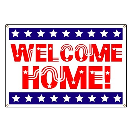 Welcome Home Banner By Lmhdesigns2