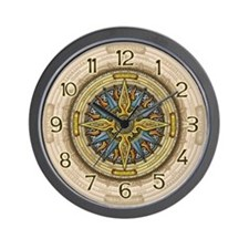 Celtic Compass Wall Clock