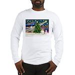 Xmas Magic Papillon (f) Long Sleeve T-Shirt