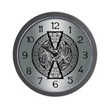 Celtic Dragons Wall Clock