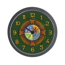 Celtic Elements Wall Clock