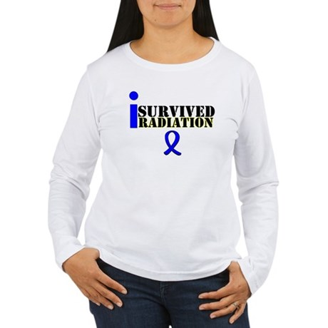 I Survived Radiation Women's Long Sleeve T-Shirt