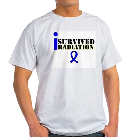 I Survived Radiation Light T-Shirt