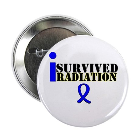 I Survived Radiation 2.25&quot; Button (10 pack)