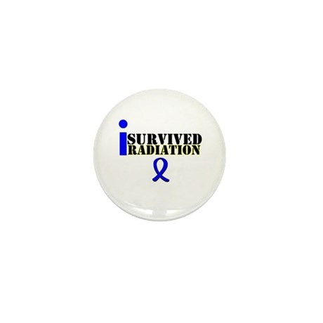 I Survived Radiation Mini Button