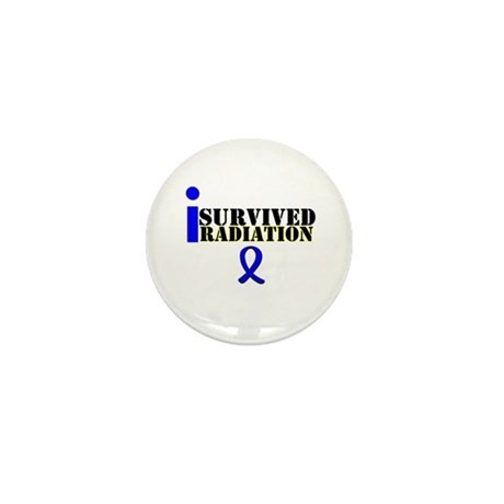 I Survived Radiation Mini Button (10 pack)