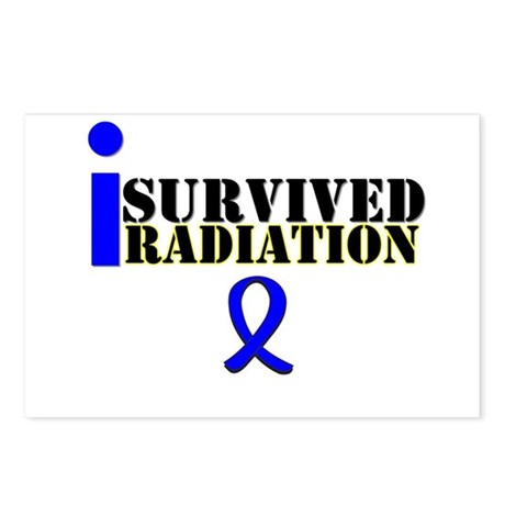 I Survived Radiation Postcards (Package of 8)