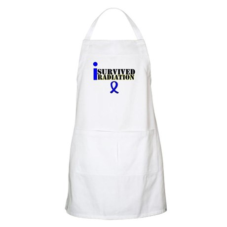 I Survived Radiation BBQ Apron