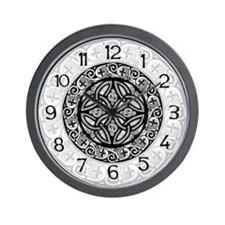 Celtic Shield Wall Clock