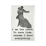 Vintage Coach Photo Magnet