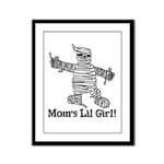 The Mummy's Girl Framed Panel Print