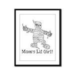 The Mummy's Girl Framed Panel Print