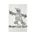 The Mummy's Girl Rectangle Magnet (100 pack)