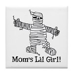 The Mummy's Girl Tile Coaster