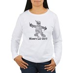 The Mummy's Girl Women's Long Sleeve T-Shirt