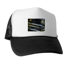 Black Chrome Trucker Hat