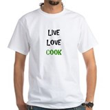 Live, Love, Cook Shirt