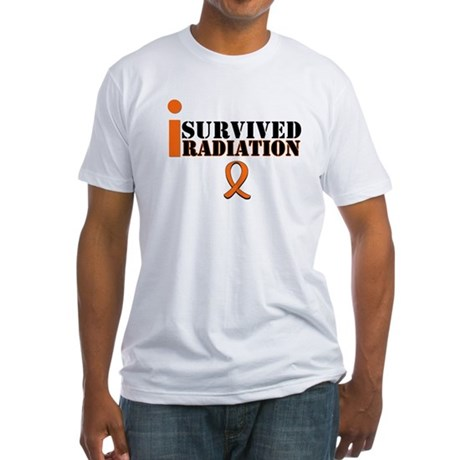 I Survived Radiation Fitted T-Shirt