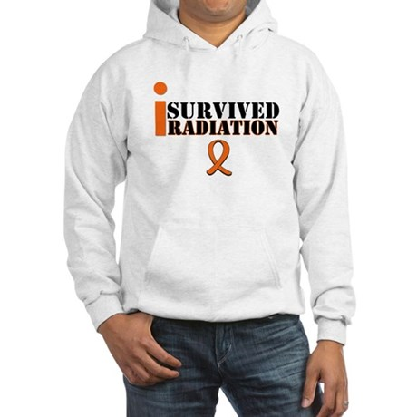 I Survived Radiation Hooded Sweatshirt
