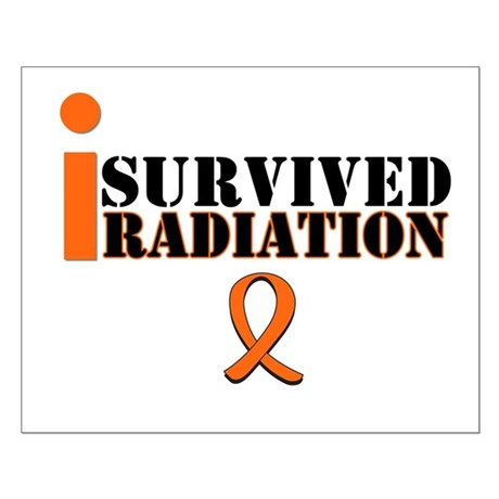 I Survived Radiation Small Poster