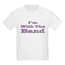 I'm with the Band - Purple Fo T-Shirt