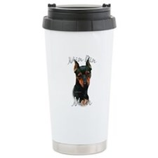 Min Pin Mom2 Ceramic Travel Mug