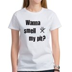 BBQ - Wanna Smell My Pit? Women's T-Shirt