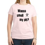 BBQ - Wanna Smell My Pit? Women's Light T-Shirt