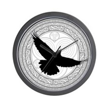 Raven's Cry Wall Clock