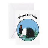 Dutch Rabbit Birthday Greeting Cards (Pk of 10)