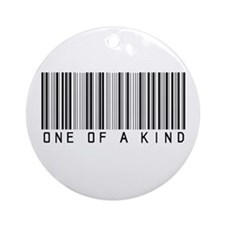 One of a Kind Ornament (Round)