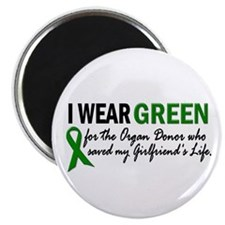 I Wear Green 2 (Girlfriend's Life) Magnet