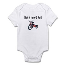 This Is How I Roll (Tricycle) Infant Bodysuit