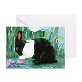 Dutch bunny rabbit Greeting Cards (Pk of 10)