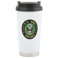 us army retired Ceramic Travel Mug