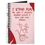 Disabled Parents Baby Journal / Diary