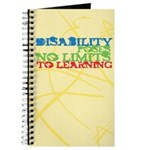 Disability No Limits to Education Journal