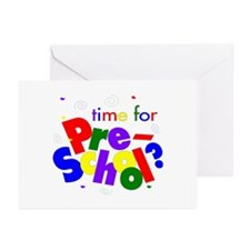 Time For Pre-School Greeting Cards (Pk of 20)