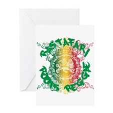 Rastafari Roots Reggae Greeting Card