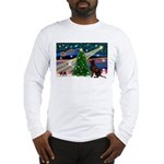 Xmas Magic & Choc Lab Long Sleeve T-Shirt