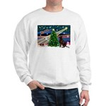 Xmas Magic & Choc Lab Sweatshirt