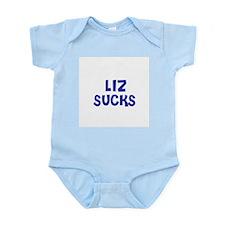 Liz Sucks Infant Creeper