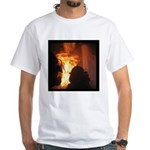 Firefighter Flashover White T-Shirt