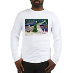 XmasMagic/Gr Pyrenees Long Sleeve T-Shirt