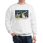 XmasMagic/Gr Pyrenees Sweatshirt