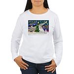 XmasMagic/Gr Pyrenees Women's Long Sleeve T-Shirt