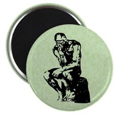 "Rodin The Thinker 2.25"" Magnet (10 pack)"