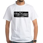 JohnSchaser.com White T-Shirt