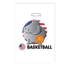 basket ball Postcards (Package of 8)