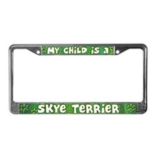 My Kid Skye Terrier License Plate Frame